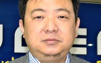 北京欧迅体育文化の朱董事長