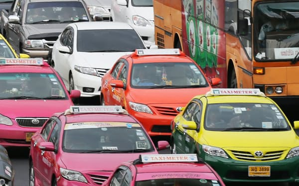 タイは年間200万台を生産する東南アジア最大の自動車生産拠点だ