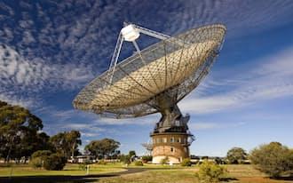 高速電波バーストの多くを観測しているオーストラリアのパークス電波望遠鏡=CSIRO提供