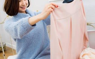 ファッション衣料が専用ボックスで届き、気に入れば購入もできる