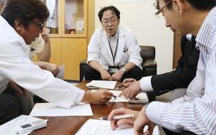 患者の遺伝子解析を治療法の参考にする(国立がんセンター)