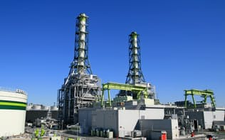 JX日鉱日石エネルギーは東京ガスと運営する火力発電所を増強する(川崎市)