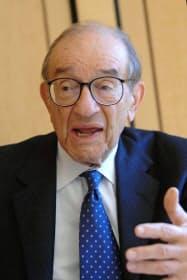 グリーンスパン前米連邦準備理事会議長(2008年10月)