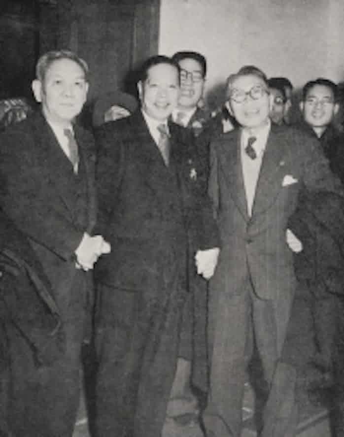 もう一人の立役者 大野伴睦(2)自由党幹事長に、昭電事件で失脚: 日本 ...