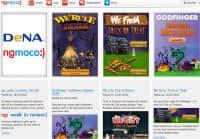 「DeNA」のロゴが入ったngmocoのサイト画面