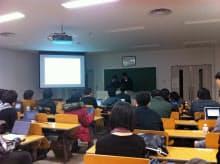 「ゲーム産業における実践的OJT/OFF-JT体感型教育プログラム」の授業風景
