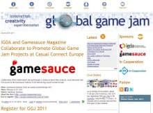 「Global Game Jam」の公式サイト画面