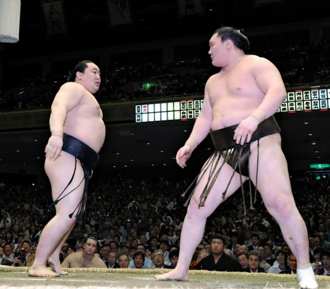 柔力と剛力 横綱白鵬(3): 日本経済新聞