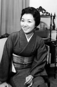 高峰秀子さん(1959年4月)