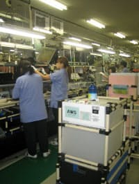 NECのパソコン生産拠点である米沢事業場(山形県米沢市)