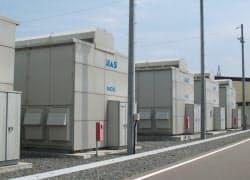 日本風力開発二又発電所(青森県六ケ所村)のNAS電池