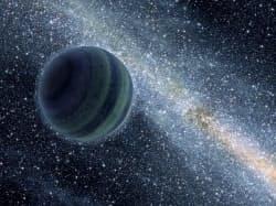発見された木星大の浮遊惑星のイメージ=NASA/JPL-Caltech/R.Hurt提供・共同