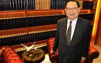 「日本でのLCC設立はこれまでの投資案件とのシナジー効果がある」と話すビクター・チュウ会長