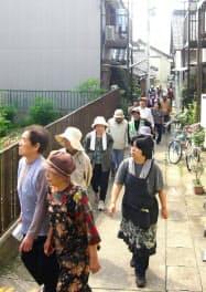住民組織が主導する避難訓練が沿岸部で広がっている(愛知県南知多町師崎地区)