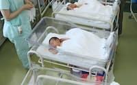 2009年は1.37だった出生率が10年は1.39に