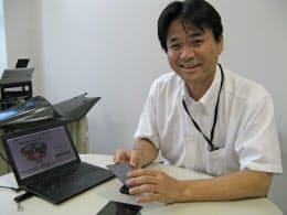 研究会の技術顧問、近畿大学理工学部の西籔和明准教授