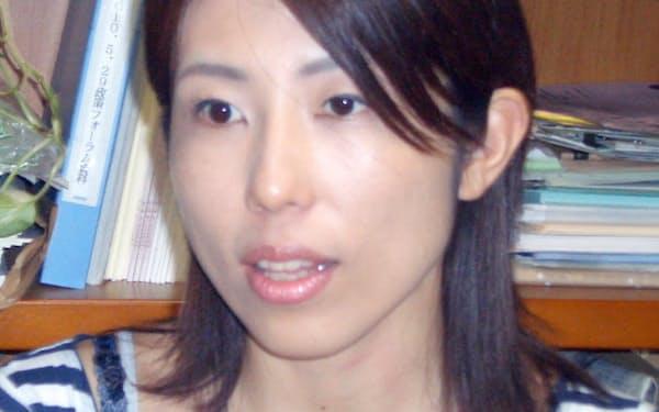 須黒奈緒・みどりの未来共同代表(杉並区議)