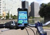 自転車専用のナビゲーションアプリも登場している