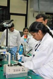 インバーターの生産を始めた、安川電機のインドの新工場