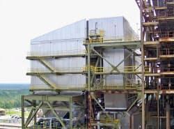 日立製作所が2009年春に米セミノール発電所に納入した脱硝装置(米フロリダ州)