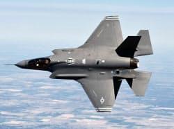 米ロッキード・マーチン社の次期主力戦闘機「F35」
