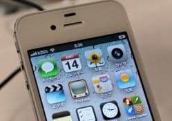 米アップルのiPhone 4S