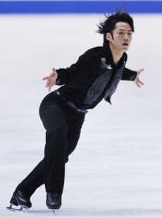 全日本選手権のフリー演技。2年ぶり5度目の優勝を果たした