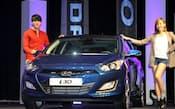 現代自は先進国でもシェアを高めている(欧州戦略車「i30」、ソウル市内)