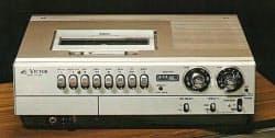 日本ビクターが1976年10月に発売したVHSビデオデッキ「HR3300」