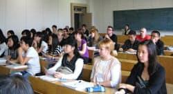 北関東の大学も国際化への取り組みを進めている(宇都宮大学)