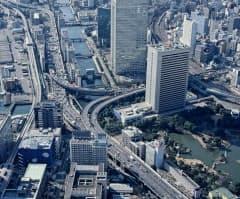 都心環状線は完成から40年以上が経過(同線の浜崎橋ジャンクション)