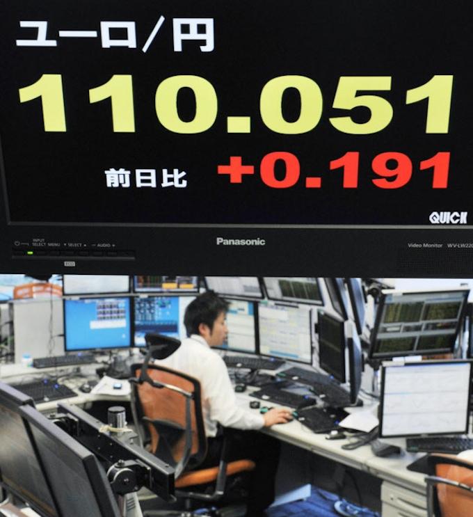 1 ユーロ 日本 円