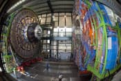 ヒッグス粒子発見へ実験を続ける欧州合同原子核研究機関(CERN)の検出器=CERN提供