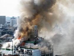 日本 アクセス 火事