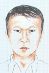 警視庁が公開した高橋克也容疑者の似顔絵