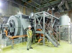 5号機建屋内の非常用ディーゼル発電機