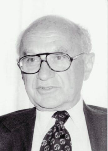 「ヘリコプターマネー」を最初に唱えた米経済学者のミルトン・フリードマン