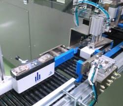 リチウムイオン電池の生産ライン(エリーパワー)