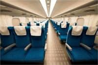 新型車両「N700A」の普通車座席=JR東海提供