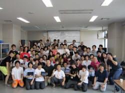 ヤフーは「石巻ハッカソン」を3カ月おきの定例イベントとすることを決めた(宮城県石巻市、7月29日)
