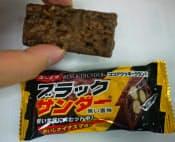 有楽製菓のチョコ菓子「ブラックサンダー」