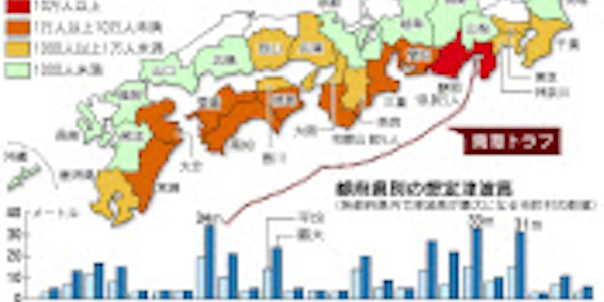 県 多い 長野 地震