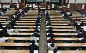 1月に行われた大学入試センター試験(東京都文京区の東京大学)