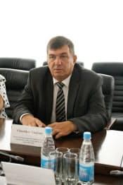 ベラルーシ国家非常事態省のチェルニコフ・ウラディミール局長(ベラルーシの首都ミンスクで)