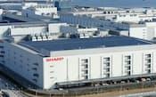 シャープ堺工場の運営会社には鴻海精密工業が出資