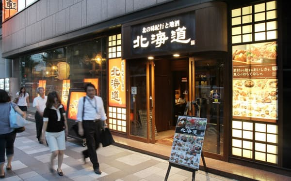 コロワイドは居酒屋「北海道」など買収を重ねて成長(東京都中央区)