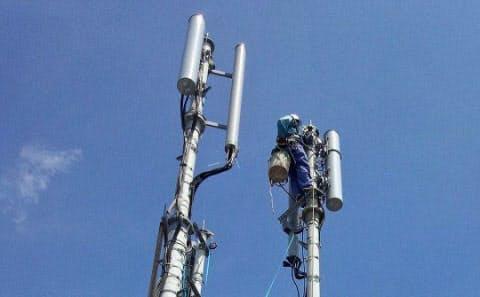 提供元=不明/国名=日本/企業団体名=NTTドコモ/撮影日=不明/最新履歴=2012年09月30日・日経ヴェリタス/掲載回数=1回/キャプション=NTTドコモはLTE対応の通信基地局の整備を進めている。