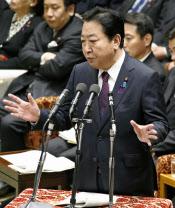 「失われた3カ月」で首相を取り巻く環境は悪化した(衆院予算委で答弁する野田首相、12日午後)=共同