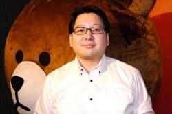 LINE事業を統括するNHN Japanの舛田淳執行役員