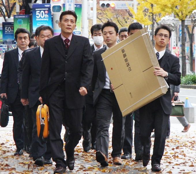 捜査員10数人、次々と本社に 中日本高速捜索: 日本経済新聞